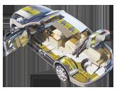 Materiali fonoisolanti per automobili